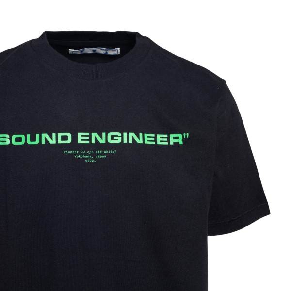 T-shirt nera con stampa grafica sul retro                                                                                                              OFF WHITE OFF WHITE