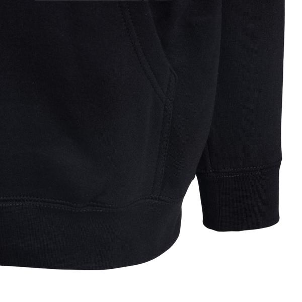 Hooded sweatshirt with double print                                                                                                                    PLEASURES