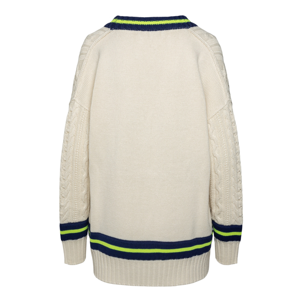 White sweater with stripes                                                                                                                             PHILOSOPHY