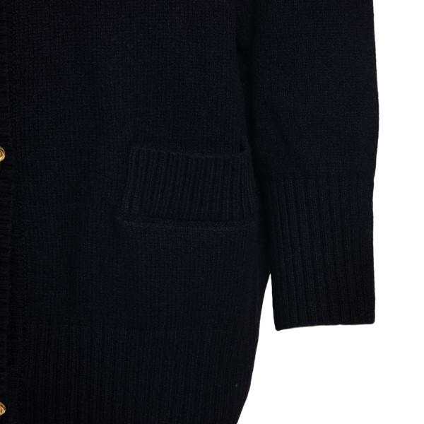 Black cardigan with golden bears                                                                                                                       MOSCHINO