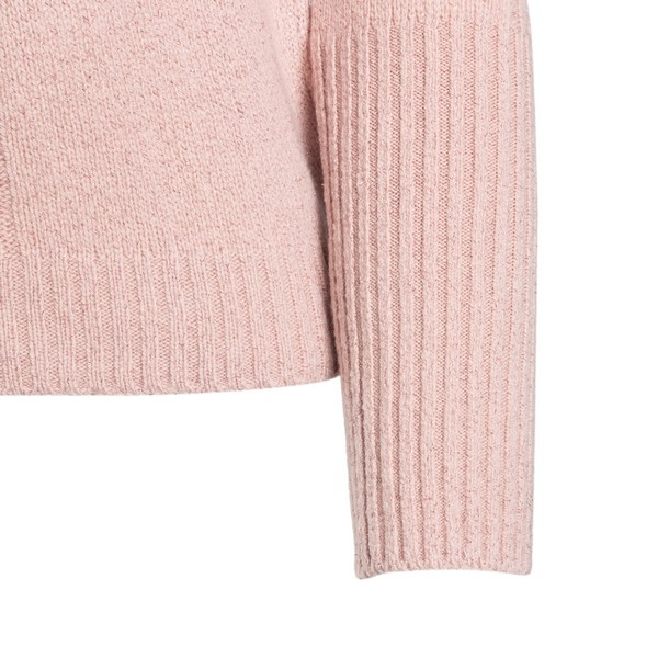 Pink sweater with flounces                                                                                                                             PHILOSOPHY