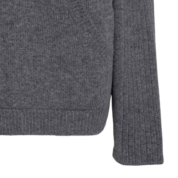 Maglione grigio con cappuccio                                                                                                                          ALBERTA FERRETTI ALBERTA FERRETTI