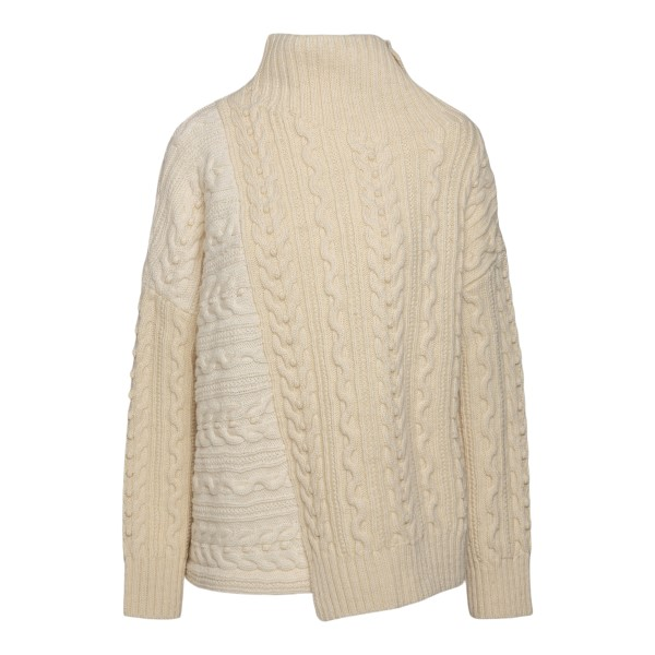 Beige sweater with a woven pattern                                                                                                                     PHILOSOPHY