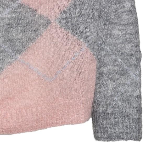 Maglione bicolore a rombi                                                                                                                              ALBERTA FERRETTI ALBERTA FERRETTI