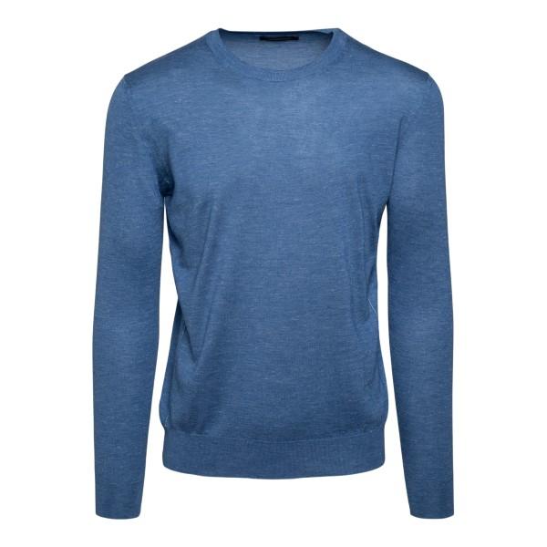 Light blue sweater                                                                                                                                    Zegna                                              110 back