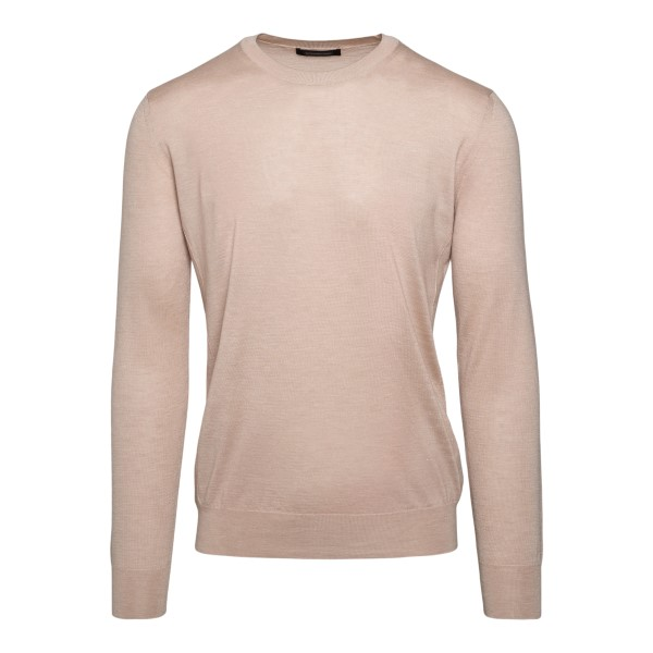 Light beige sweater                                                                                                                                   Zegna 110 back