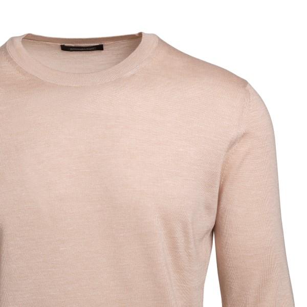 Light beige sweater                                                                                                                                    ZEGNA