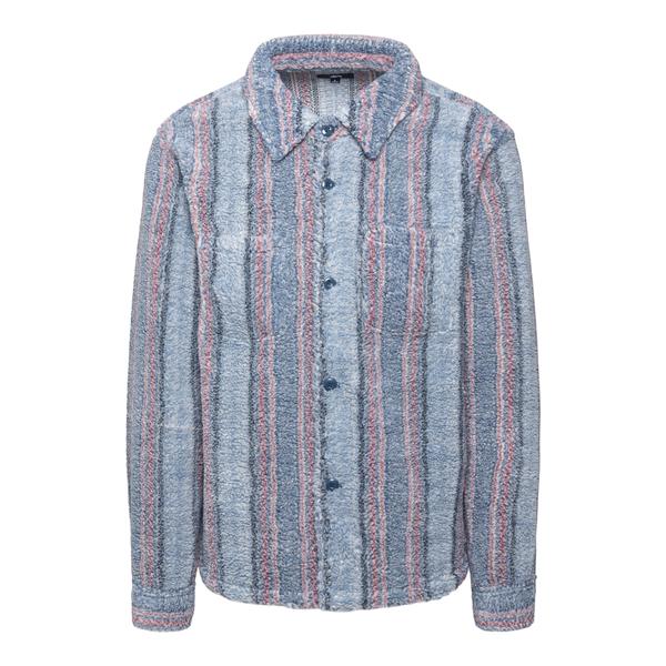 Camicia morbida a righe                                                                                                                               Stussy 1110197 retro