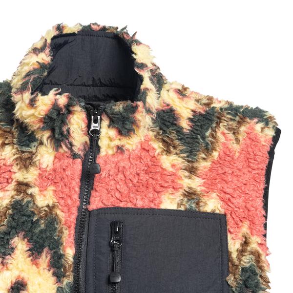 Patterned fleece vest                                                                                                                                  STUSSY