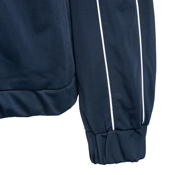 Blue sweatshirt with striped details                                                                                                                   MISBHV