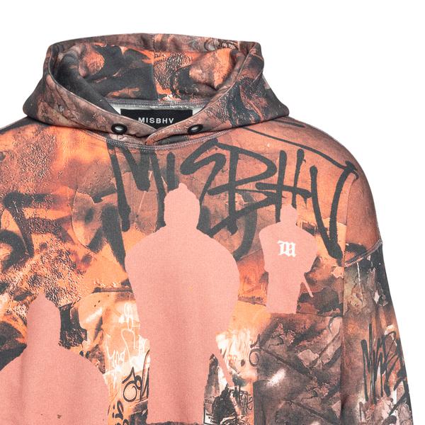 Multicolored graffiti effect sweatshirt                                                                                                                MISBHV