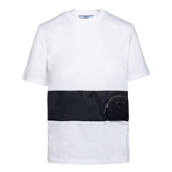 T-shirt with band                                                                                                                                     Prada 135684 back