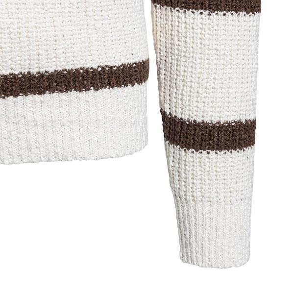 White striped sweater                                                                                                                                  BRUNELLO CUCINELLI