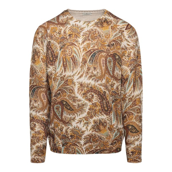 Paisely motif sweater                                                                                                                                  ETRO