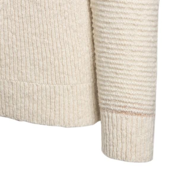 Maglione in stile color block beige                                                                                                                    MAISON FLANEUR                                     MAISON FLANEUR