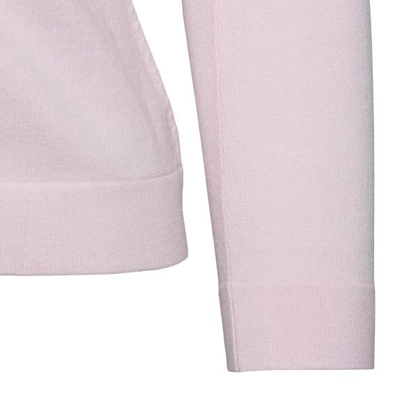 Cardigan rosa con ecopelliccia                                                                                                                         BLUMARINE                                          BLUMARINE