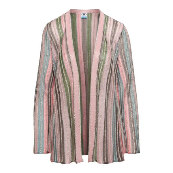 Multicolored striped cardigan                                                                                                                         M Missoni 2DM00149 back