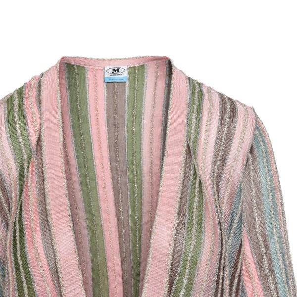 Multicolored striped cardigan                                                                                                                          M MISSONI