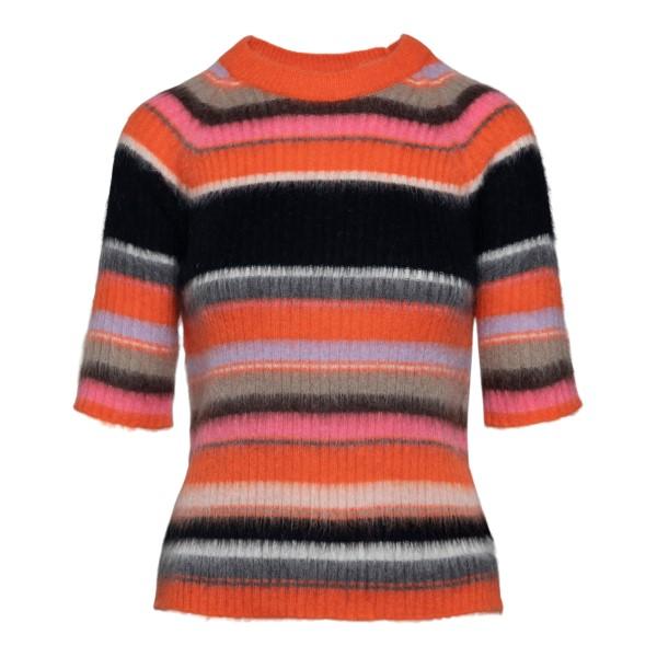 Multicolored striped sweater                                                                                                                          Msgm 3141MDM127 back