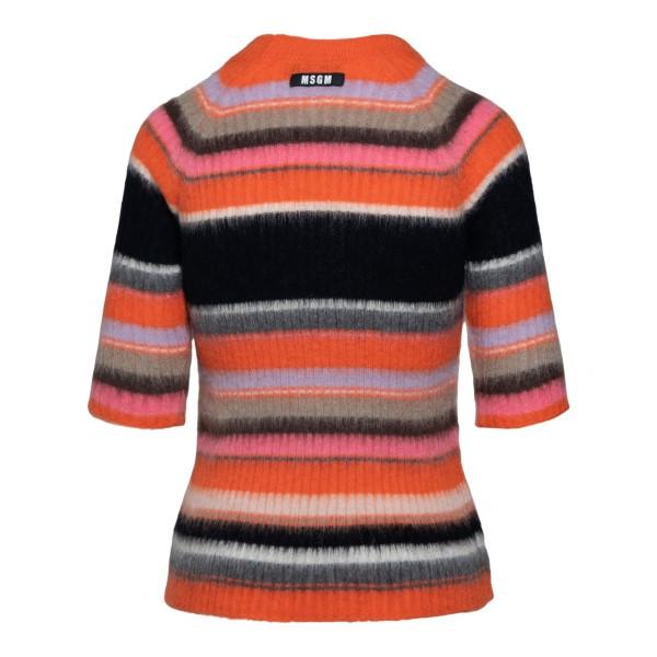 Multicolored striped sweater                                                                                                                           MSGM