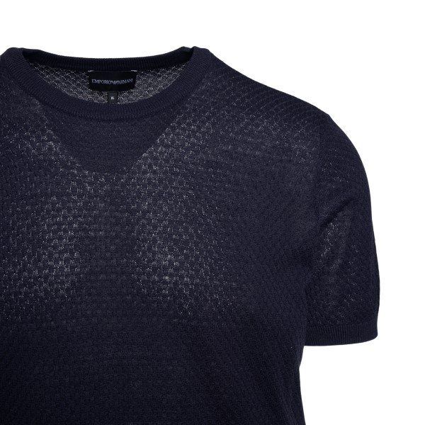 Dark blue T-shirt                                                                                                                                      EMPORIO ARMANI