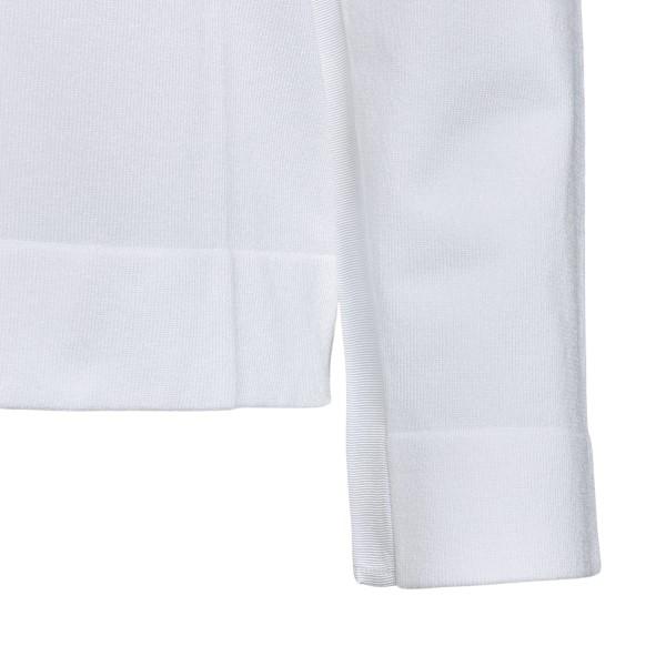White hooded sweatshirt                                                                                                                                EMPORIO ARMANI