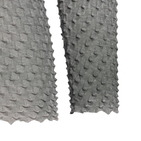 Grey sweater with texture                                                                                                                              EMPORIO ARMANI