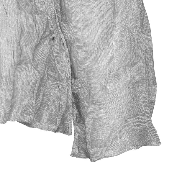 Light grey top with wrinkled effect                                                                                                                    EMPORIO ARMANI