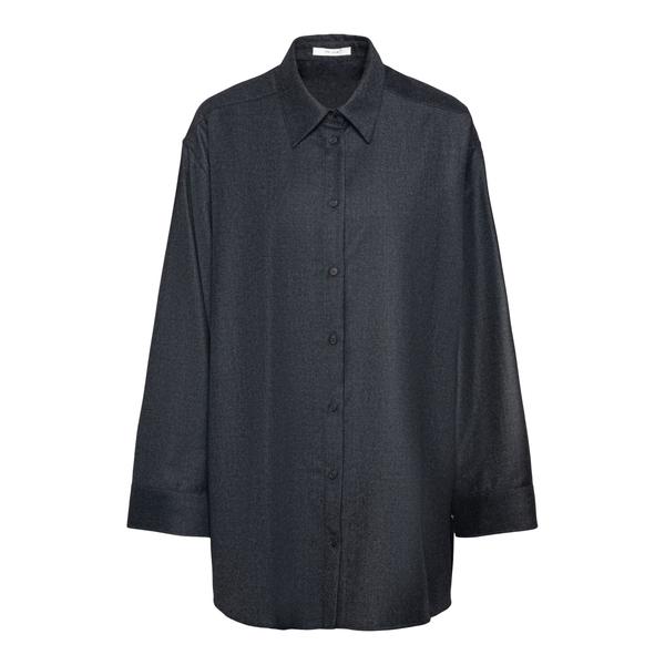 Camicia nera oversize                                                                                                                                 The Row 5927 retro