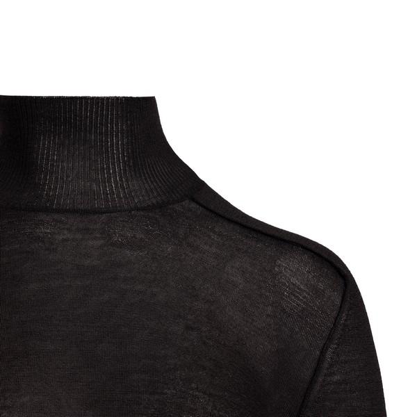 Maglioncino color fondente a collo alto                                                                                                                BOTTEGA VENETA                                     BOTTEGA VENETA