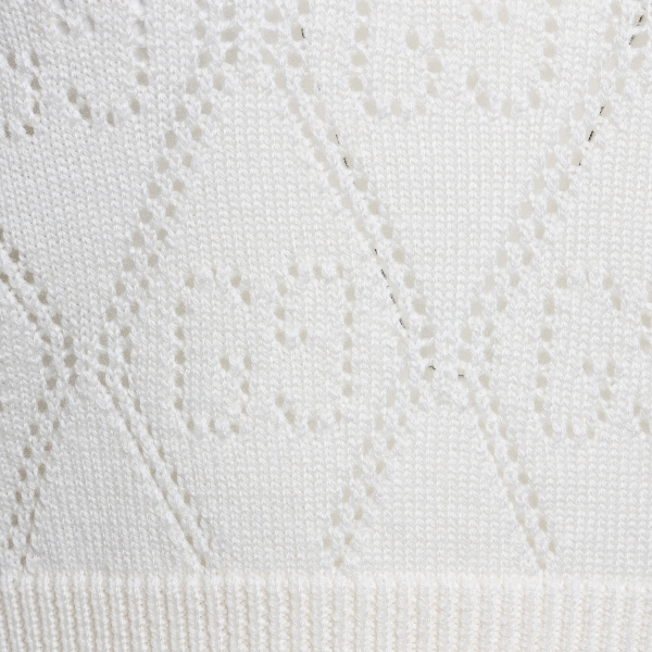 White top with perforated pattern                                                                                                                      GUCCI