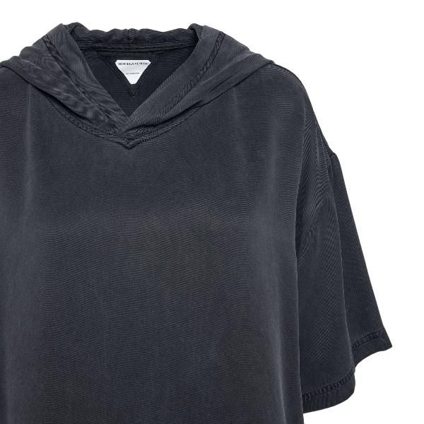 Grey short-sleeved sweatshirt                                                                                                                          BOTTEGA VENETA