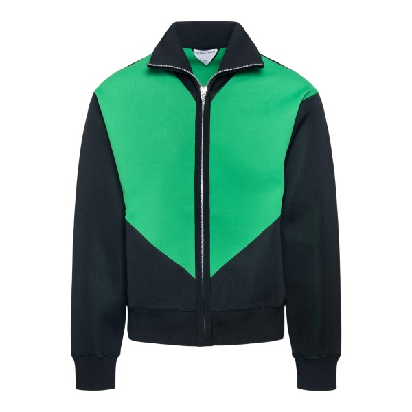 Black and green sweatshirt                                                                                                                            Bottega Veneta 665908 back