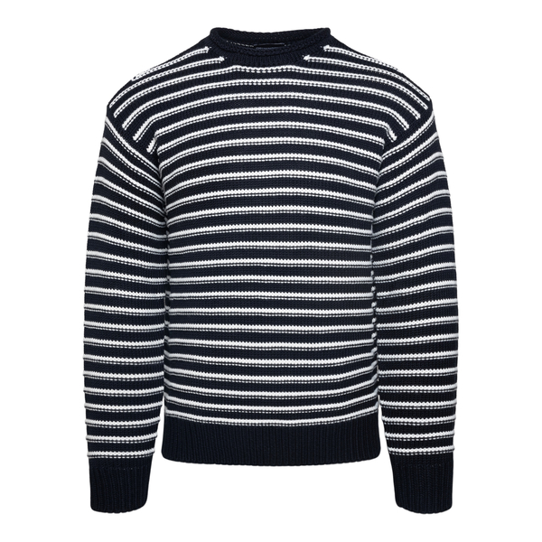 Black striped sweater                                                                                                                                  EMPORIO ARMANI
