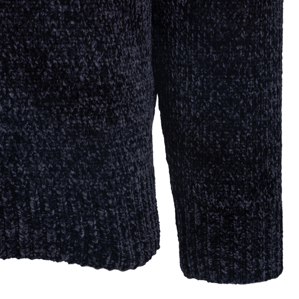 Blue sweater with contrasting parts                                                                                                                    EMPORIO ARMANI