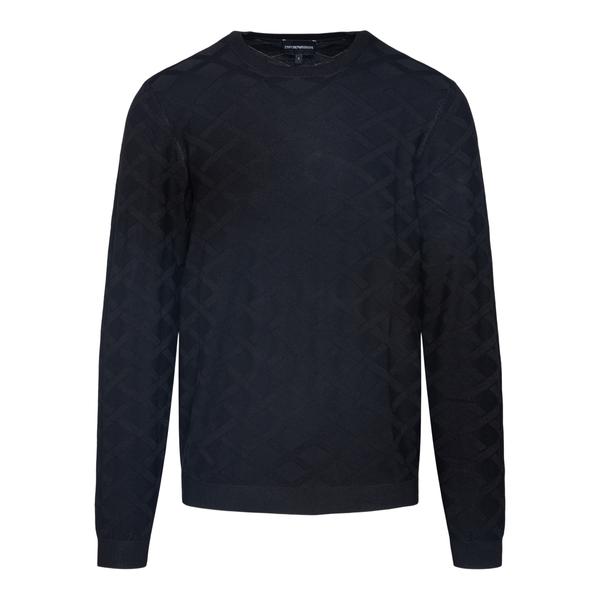 Black diamond sweater                                                                                                                                 Emporio Armani 6K1MXE back