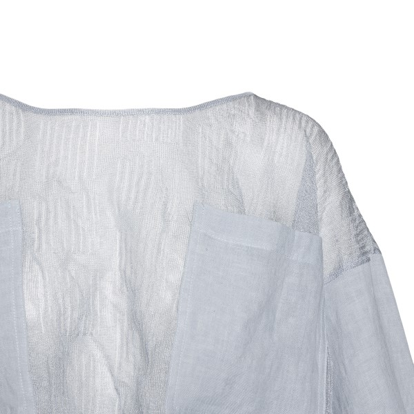 Light ice top with wide sleeves                                                                                                                        EMPORIO ARMANI