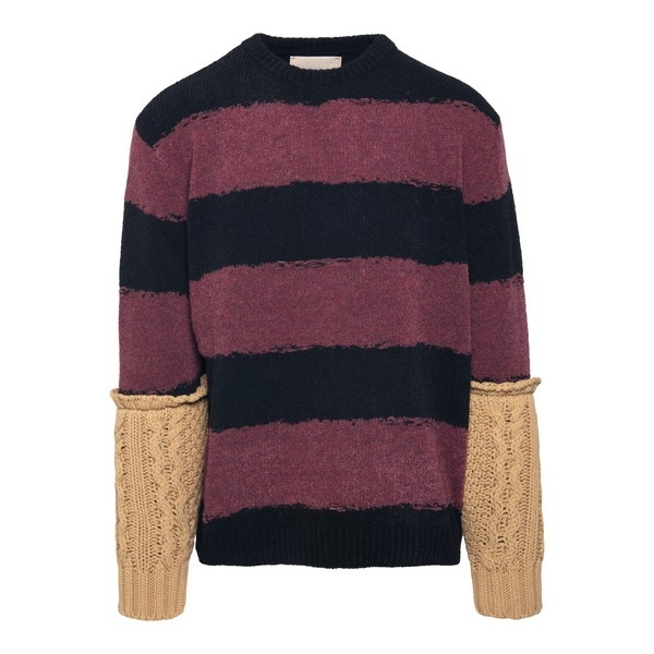 Striped pullover with contrasting arms                                                                                                                Corelate A20348M front