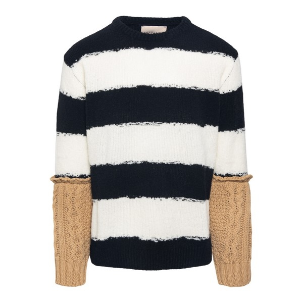 Striped sweater with contrasting arms                                                                                                                 Corelate A20348M front