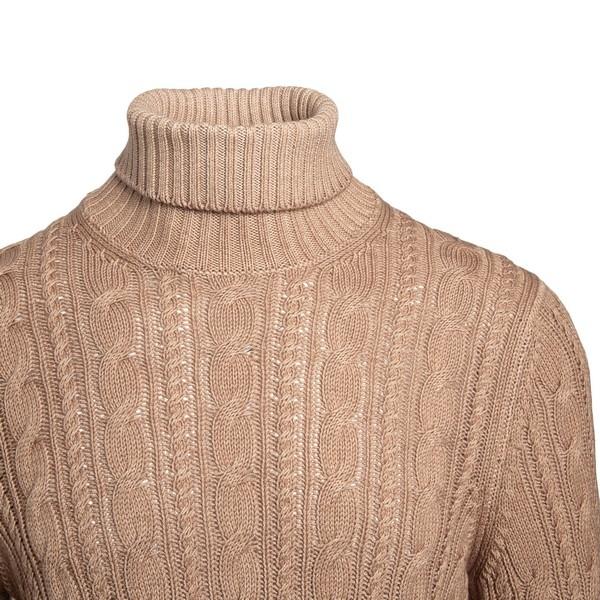 Beige turtleneck sweater                                                                                                                               TAGLIATORE