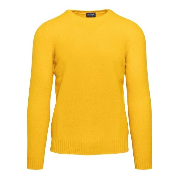 Pullover giallo                                                                                                                                       Drumohr D8W103G fronte