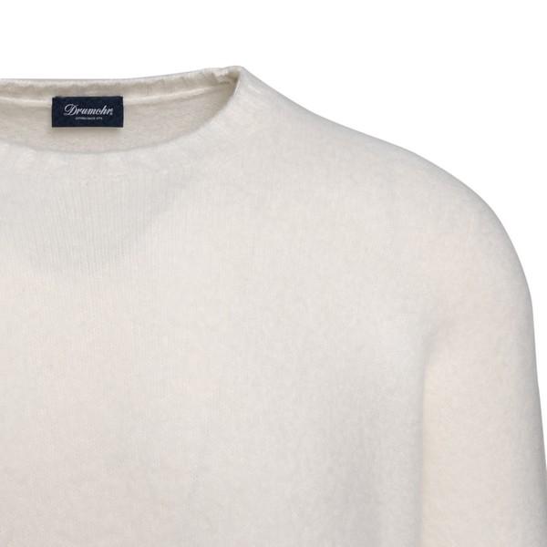 Maglione bianco slim                                                                                                                                   DRUMOHR                                            DRUMOHR