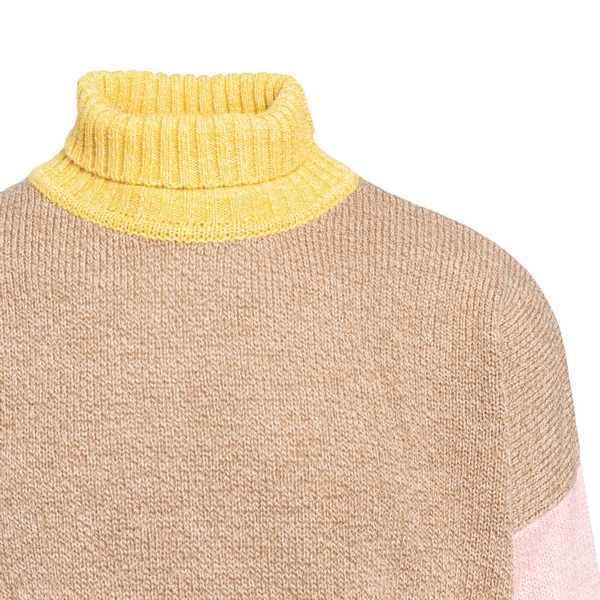 Contrasting colours turtleneck pullover                                                                                                                DROLE DE MONSIEUR