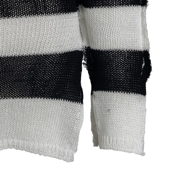 Long black and white striped sweater                                                                                                                   MARNI