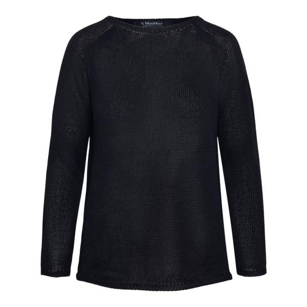 Maglione minimal in colore nero                                                                                                                       Max Mara S GIOLINO retro
