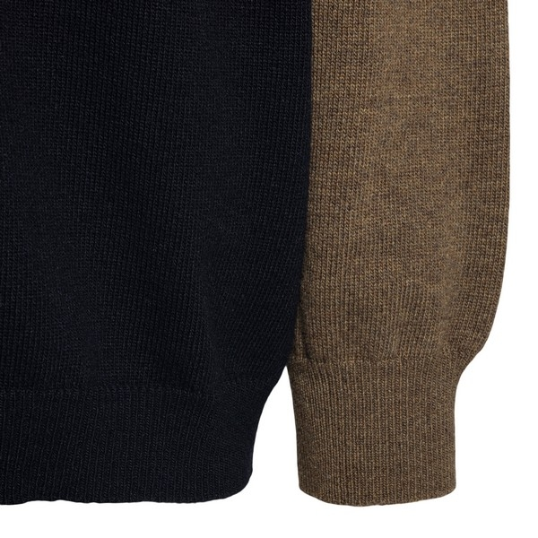 Color-block style sweater with logo                                                                                                                    LOEWE