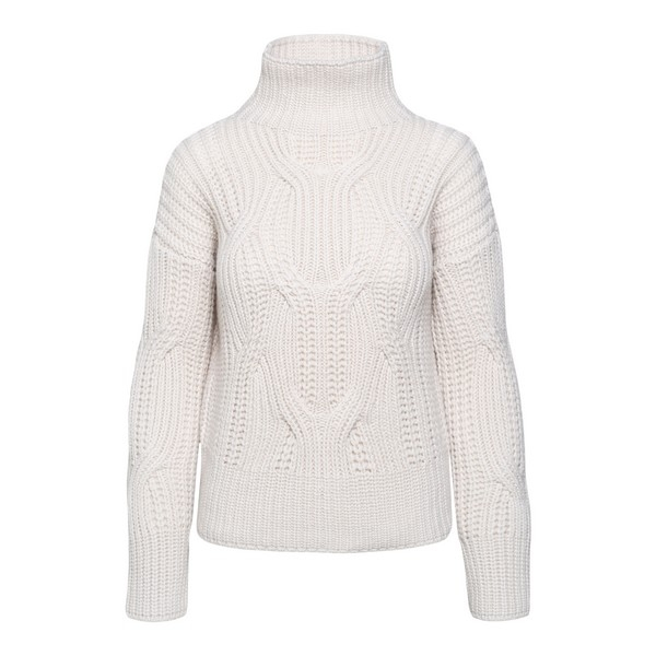 White turtleneck sweater                                                                                                                              Drumohr L3K105PT front
