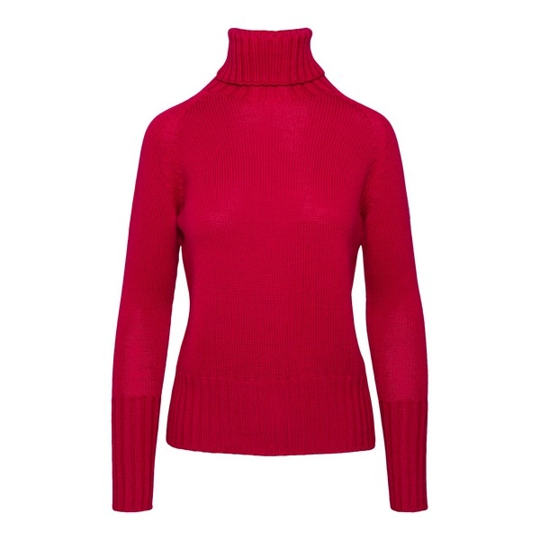 Red turtleneck                                                                                                                                        Drumohr L5M114T front