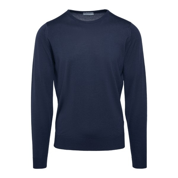 Crew-neck collar pullover                                                                                                                             John smedley LUNDY front