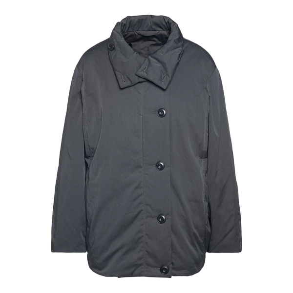 Grey jacket with collar                                                                                                                               Lemaire OW289 back